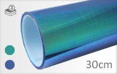 Flipflop blauw achterlicht folie